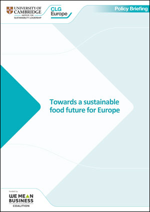 Towards a sustainable food future for Europe