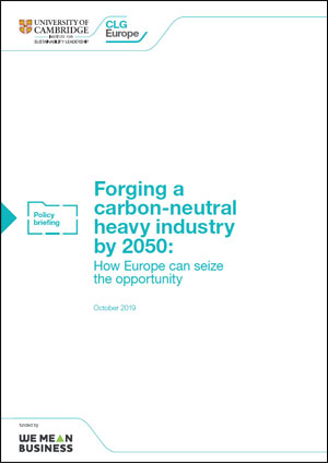 Forging a carbon neutral heavy industry