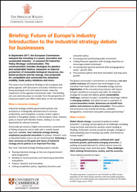 future of europes industry
