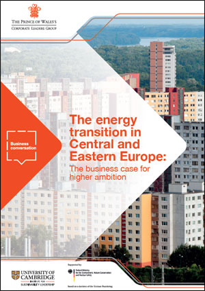 The energy transition in Ce