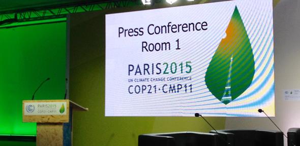 Press Conf Room COP21